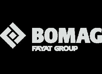 Wir sind autorisierter Vertragshändler von Bomag  für Baumaschinen, Bagger, Radlader, Kleintechnik